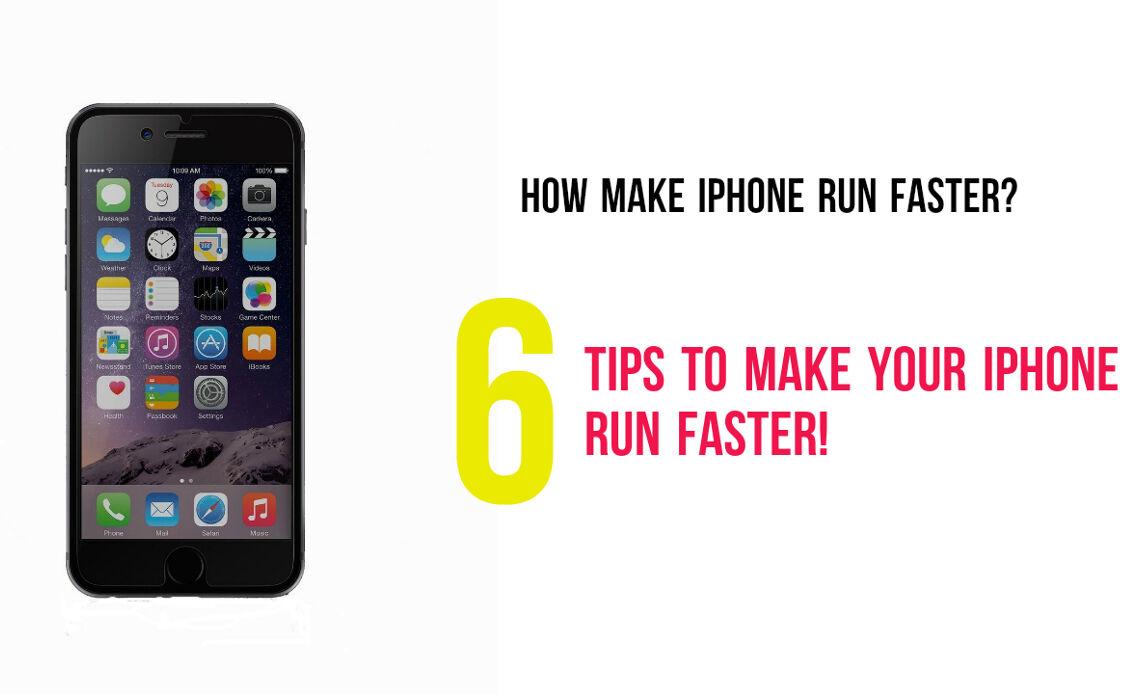 Make iPhone run faster