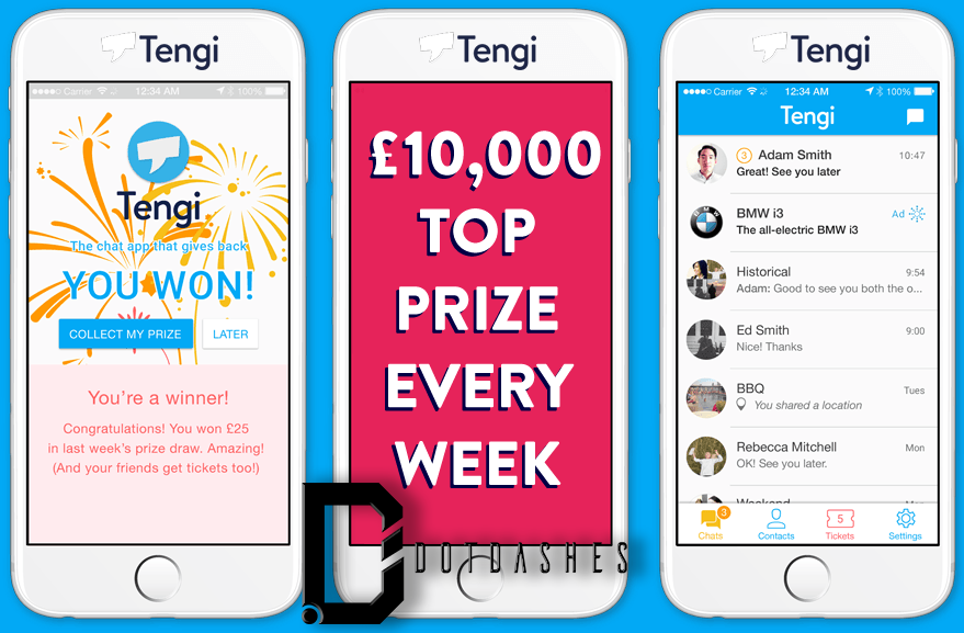 Win money using tengi